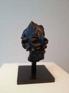 'Head' in bronze, Willem de Kooning